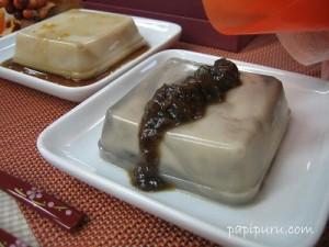 永平寺の胡麻豆腐